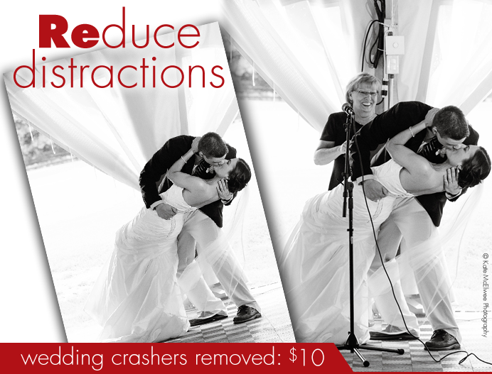 Wedding crashers removed: Just $5